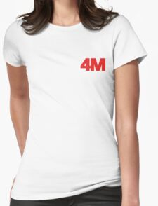 4Minute 4M ACT. 7 Womens Fitted T-Shirt