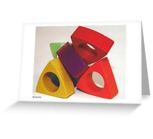 Blocks Greeting Card