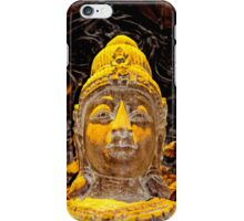 Buddha's gaze iPhone Case/Skin