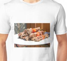 Grilled red meat skewers  Unisex T-Shirt