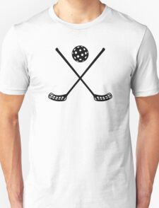 Crossed floorball sticks T-Shirt