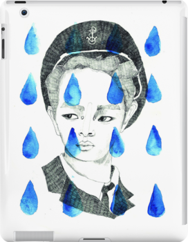 In Rain or SHINee; illustration by Julia Major