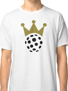 Floorball champion crown Classic T-Shirt