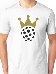 Floorball champion crown Unisex T-Shirt