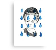 In Rain or SHINee; illustration Canvas Print