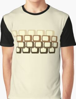 Retro Square Graphic T-Shirt