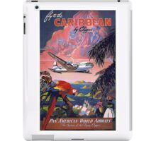 Fly to the Caribbean! iPad Case/Skin