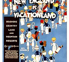 New England is Vacationland by Vintagee