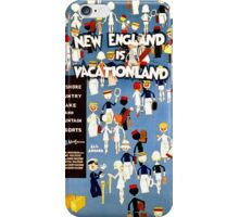 New England is Vacationland iPhone Case/Skin