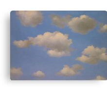 In the style of Magritte Canvas Print