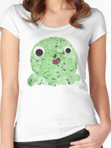Mint Chocolate Chip Women's Fitted Scoop T-Shirt