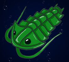 Green Trilobite by Noadi