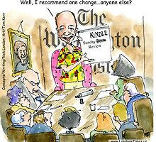 Bezos Surprise At Washington Post by Rick  London