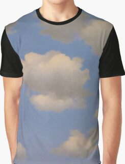 In the style of Magritte Graphic T-Shirt