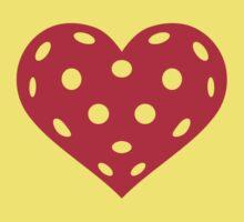Floorball red heart Kids Tee