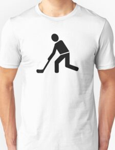 Floorball Player Unisex T-Shirt