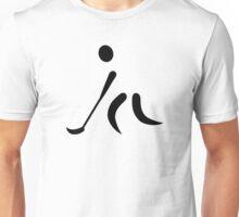 Floorball Player logo Unisex T-Shirt