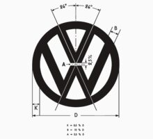 Volkswagen Logo Angles by xtentual