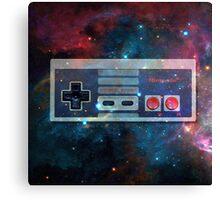 GALACTiC NES  Canvas Print