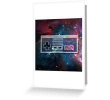 GALACTiC NES  Greeting Card