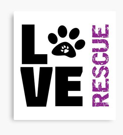 Love Rescue Canvas Print