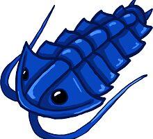 Blue Trilobite by Noadi