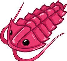 Pink Trilobite by Noadi