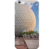 Spaceship Earth in Sunset  iPhone Case/Skin
