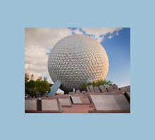 Spaceship Earth in Sunset  Unisex T-Shirt