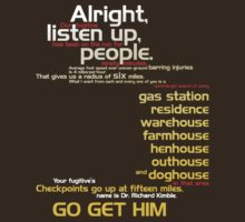 The Fugitive - Alright Listen Up People... by scatman