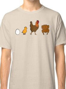 Evolution Chicken Classic T-Shirt