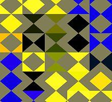 Retro triangles by RosiLorz