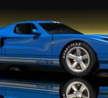 Ford GT40 Sticker