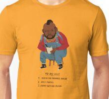 T-to-do-list Unisex T-Shirt