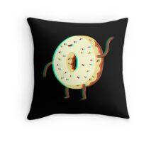 Donut Guy Throw Pillow