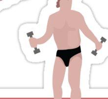 Dennis Stamp Fitness Sticker