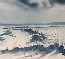 Winter Light over Lastingham Rigg by Glenn Marshall