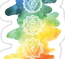 The 7 Chakras Sticker