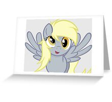 Derpy Hooves  Greeting Card