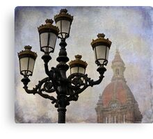 Streetlights Canvas Print