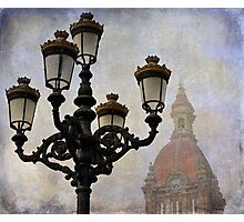 Streetlights Photographic Print