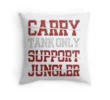 League Of Legends - Tank only pillow Throw Pillow