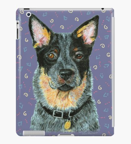 Beaut Australian Cattle Dog iPad Case/Skin