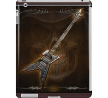Death Metal Bass Skull iPad Case/Skin