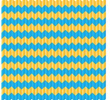 simple yellow and blue knit pattern by jazzydevil