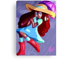 Steven Universe: Connie in the Rain Canvas Print
