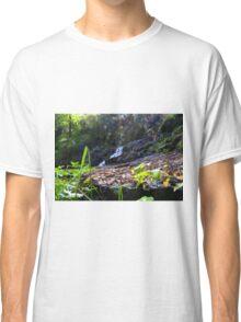 Turtons Creek Waterfall sparkles Classic T-Shirt