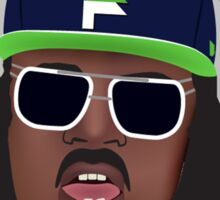 Marshawn Terrell Lynch : Beast Mode  Sticker