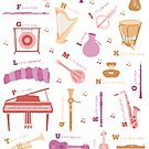 Instrument ABCs by Amy Huxtable