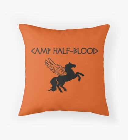 Camp Half-Blood Camp Shirt Throw Pillow